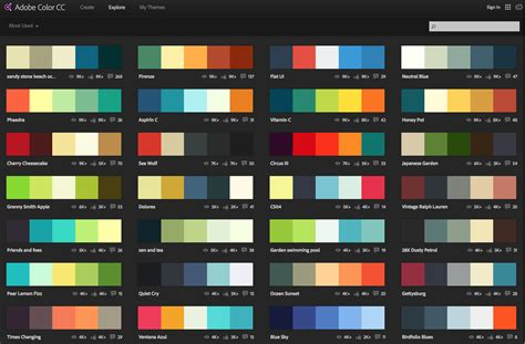 Color Schemes by How To A Color Scheme Adobe Color Cc Binding Agency