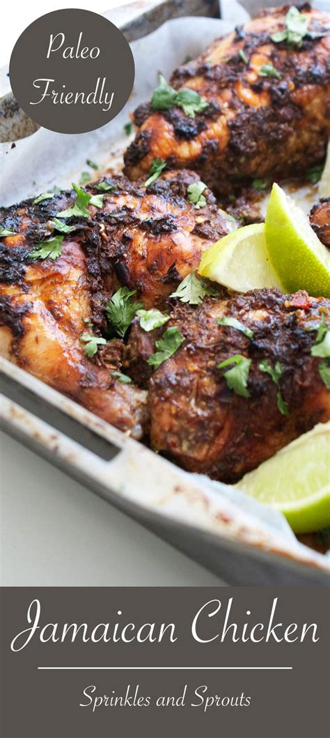 Jamaican Chicken A Spicy And Aromatic Chicken Dish, That