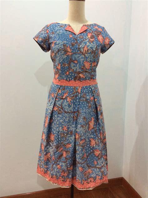 dress   batik tulis lasem dress