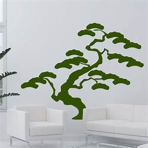 Baum Für Wohnzimmer : baum bonsai f r wohnzimmer wohnbereich wandtattoo japan ~ Michelbontemps.com Haus und Dekorationen