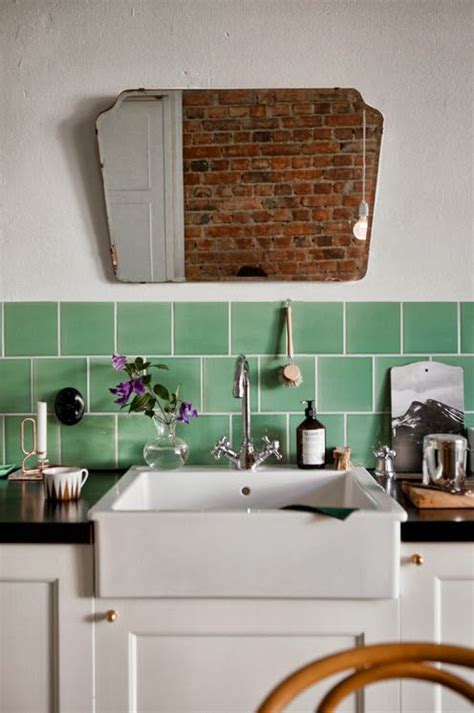 mirror tiles kitchen 297 best images about the vintage kitchen on 4156
