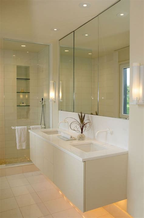 Ultra Modern Bathroom Fixtures by Hanging Vanity Glass Alcove Shower Wall Mounted Taps