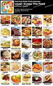 Food and Drink Trivia Answers - Game Solver