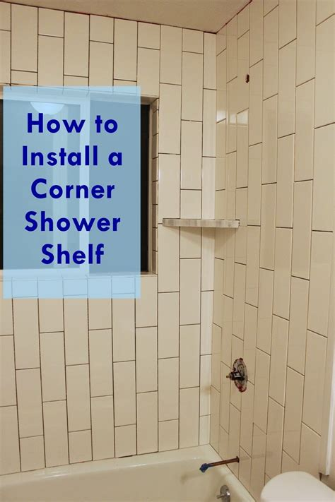 subway tile shower bench how to install a tile shower corner shelf