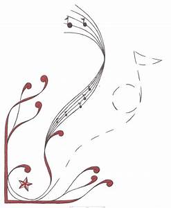 13 Cool Music Note Designs Images - Music Note with Wings ...