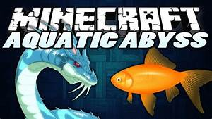 "Minecraft Mods | AQUATIC ABYSS | ""Sea Monsters ..."