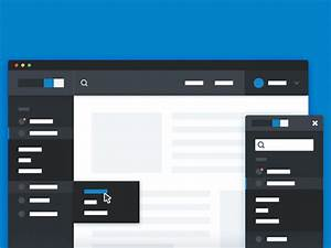 responsive sidebar navigation html freebiesbug With html side menu bar template
