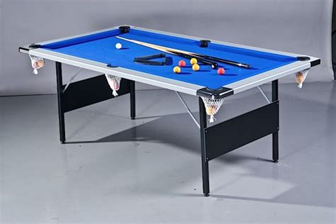 folding pool table 7ft tim franklin 7ft deluxe folding leg pool table in silver