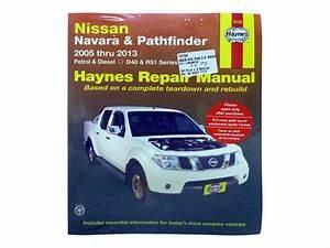 Workshop Manual For Nissan Navara D40 And Pathfinder R51 4