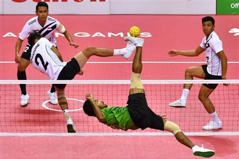 asian games singapore settle  sepak takraw bronze