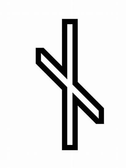 Rune Meaning Runes Symbols Nauthiz Viking