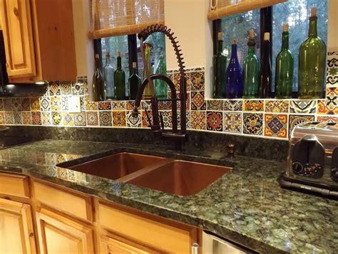 mexican tile kitchen backsplash good mexican tile backsplash cabinet hardware room