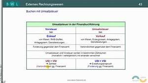 Vorsteuer Berechnen : umsatzsteuer teil 4 umsatzsteuer vorsteuer und zahllast youtube ~ Themetempest.com Abrechnung