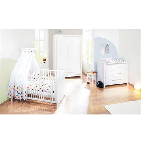 chambre bébé bio chambre bébé 3 pièces puro blanc pinolino natiloo com