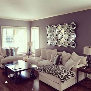 Best, 30, Awesome, Purple, Living, Room, Wall, Color, Ideas, You