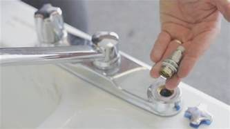 how to fix moen kitchen faucet handle how to repair a kitchen two handle faucet
