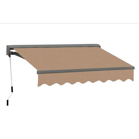 advaning  ft classic  series semi cassette electric retractable patio awning