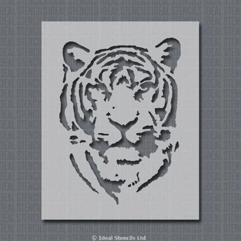 tiger stencil home decor craft ideal stencils