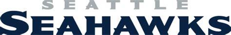 official seahawks vector logo  wordmark
