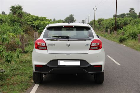Baleno New Modified White Colours by Maruti Baleno Rs A Compromise Team Bhp