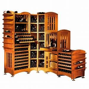 Rangement Bouteille De Vin : moduloth que rangement modulable en ch ne massif pour le vin eurocave ~ Teatrodelosmanantiales.com Idées de Décoration