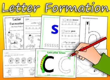 letter formation printables kid ideascrafts pinterest