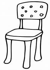Chair Coloring Chair6 sketch template