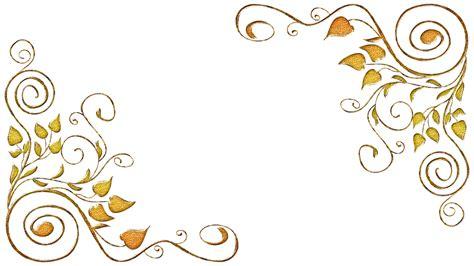 rotulos png para photoshop molduras arabescos dourados