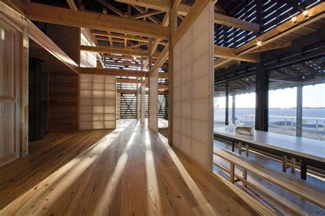 Austere Chic A Japanese Barn House