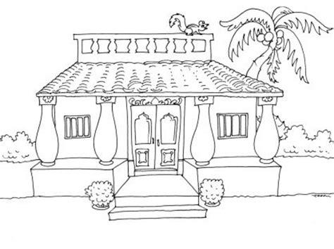 coloriage maison 23 tipos de vivienda