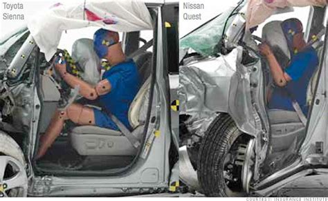 Minivans Crash Test by Minivans Fail Spectacularly In Crash Test Nov 20 2014
