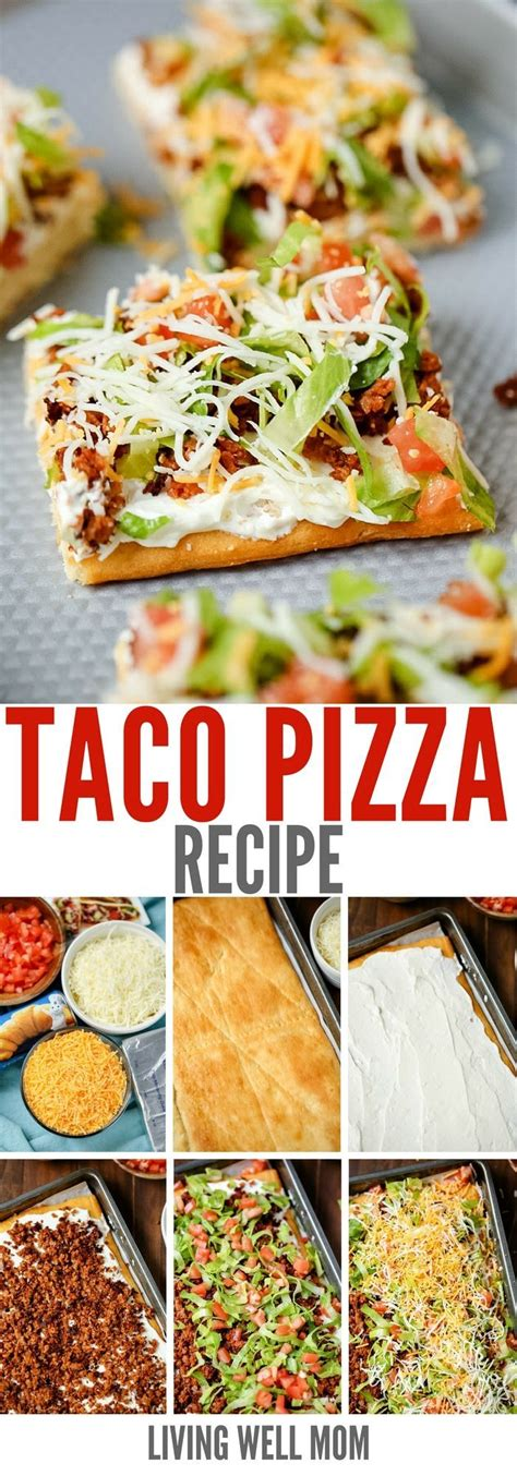 Best 25 Taco Pizza Recipes Ideas On Pinterest Taco