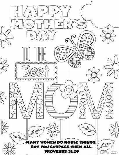 Coloring Pages Mothers Mother Sheets Colouring Adult