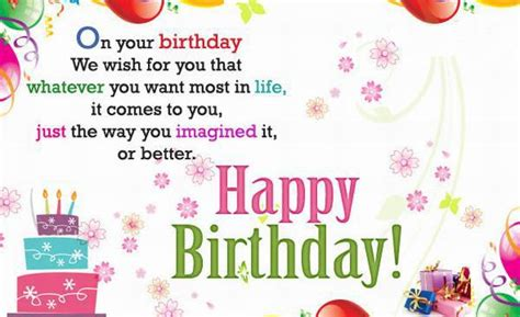 happy birthday words texted wishes card images