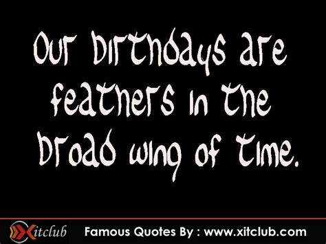 Birthday Quotes From Famous Poets