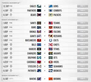 week 12 nfl the air tv schedule by region the cordcutter mohu