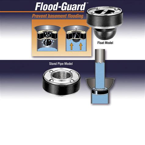 floor drain backflow device flood guard drain sealer csi products