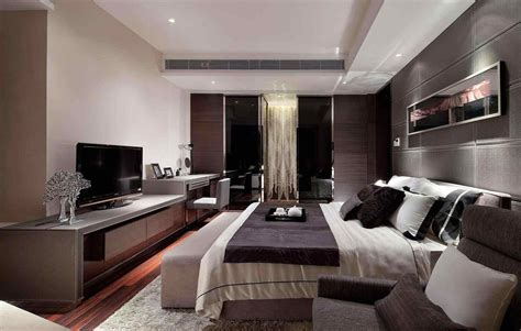 40836 modern bedroom with tv master bedrooms room partition bedroom tv background wall