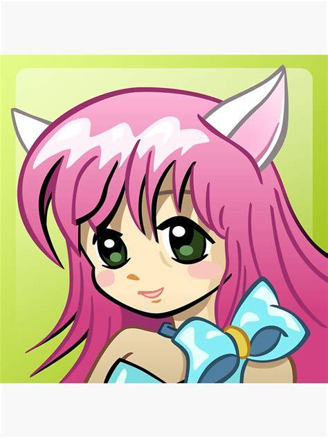 Xbox 360 Anime Girl Gamerpic Magnet By Thirstylyric