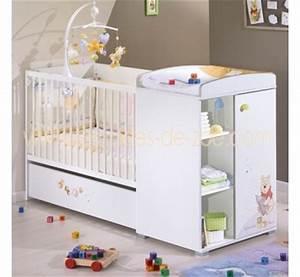 lit bebe winnie l39ourson With tapis chambre enfant avec canapé le corbusier lc2 3 places