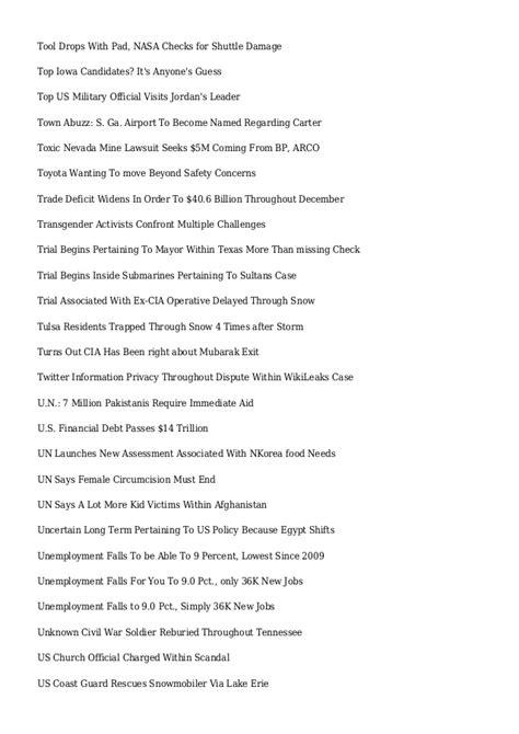 Cbs News Sitemap