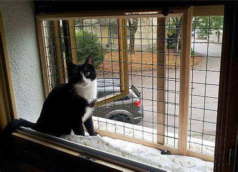 ringhiera per finestra recinto per gatti chiusura scorrevole