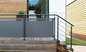 Garde Corps Terrasse Aluminium : protective railings wood terrace pergolas carports wood decks cladding tailor made ~ Melissatoandfro.com Idées de Décoration