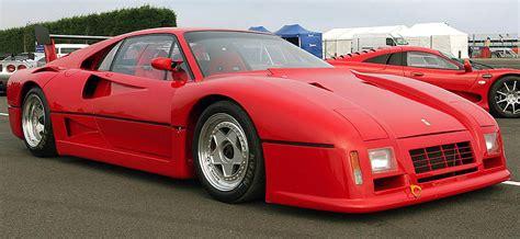1986 Ferrari 288 GTO Evoluzione - specifications, photo ...