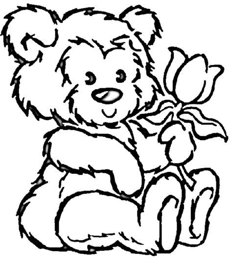 Kleurplaat Moederdag Teddybeer by Kleurplaten Beren Bewegende Afbeeldingen Gifs