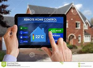 Smart Home Control : remote home control stock image image of concepts home 31820301 ~ Watch28wear.com Haus und Dekorationen