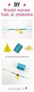 Bracelet Tendance Du Moment : bracelet intercalaire philodendron avec noeuds en macram les tutoriels perles co ~ Dode.kayakingforconservation.com Idées de Décoration