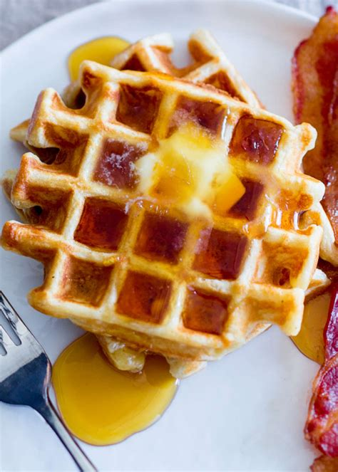 how to make the lightest crispiest waffles kitchn
