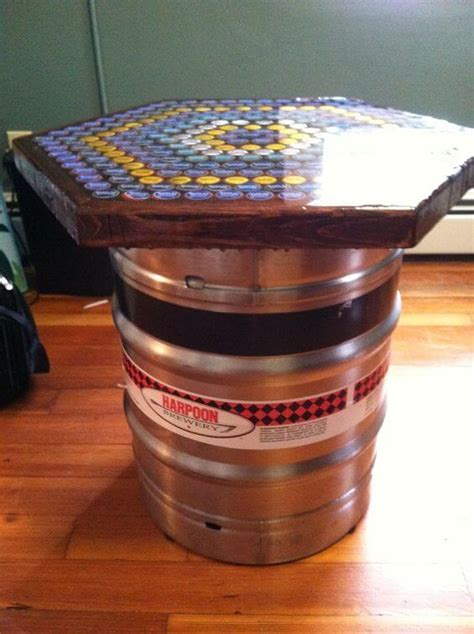 24 Inspiring DIY Barrel Tables   Patterns Hub