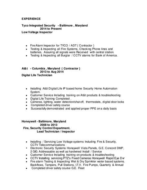 voltage resume